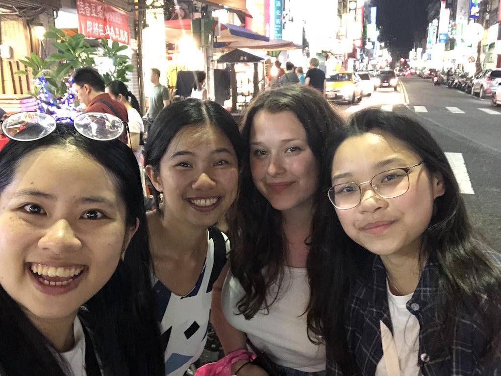 Walking streets of Taipei
