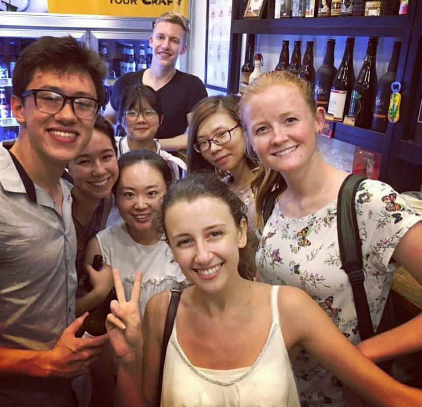 Friends in Shanghai
