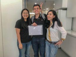 LTL graduate and teachers