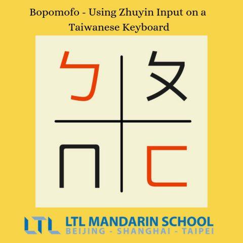 Bopomofo Zhuyin Fuhao