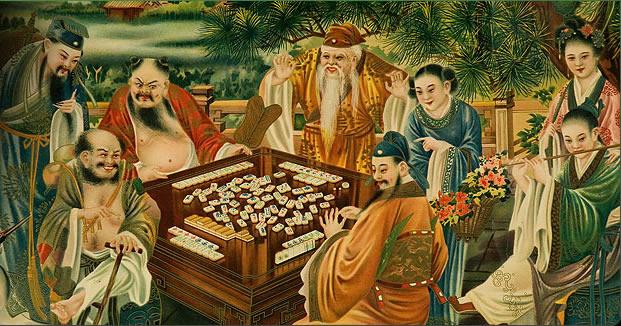 Mahjong was played in ancient China