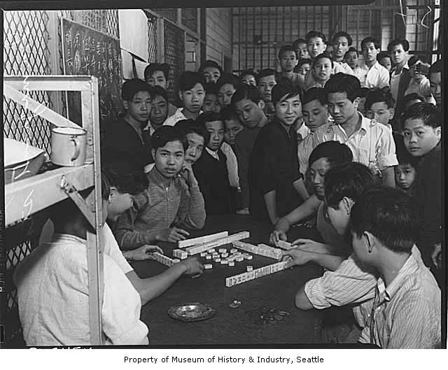 Chinese immigrants took mahjong around the world