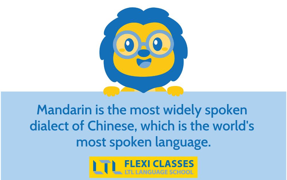 chinese vs mandarin - Lex