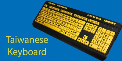 Bopomofo: Using Zhuyin Input on a Taiwanese Keyboard