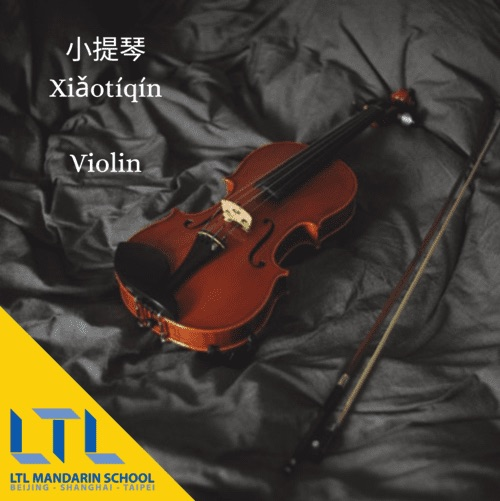 Violin in Chinese