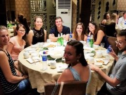 Wednesday night social dinner in Beijing
