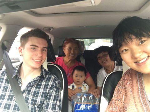 Chinese Homestay Family with LTL Mandarin School