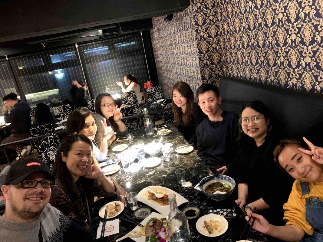 LTL Taiwan Team Dinner