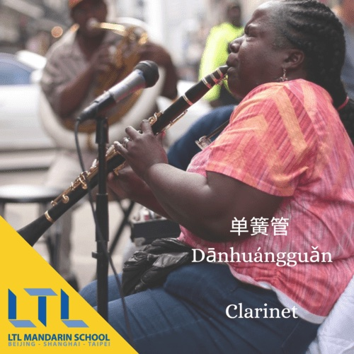 Clarinet in Chinese