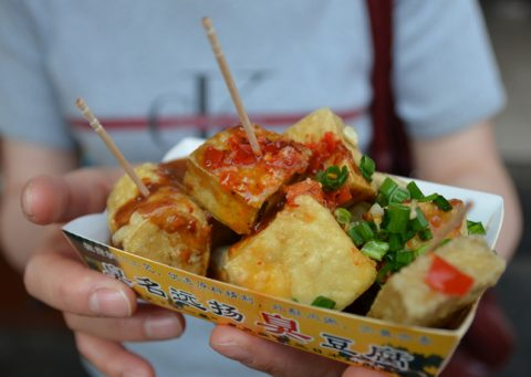 Food in Taiwan - Stinky Tofu