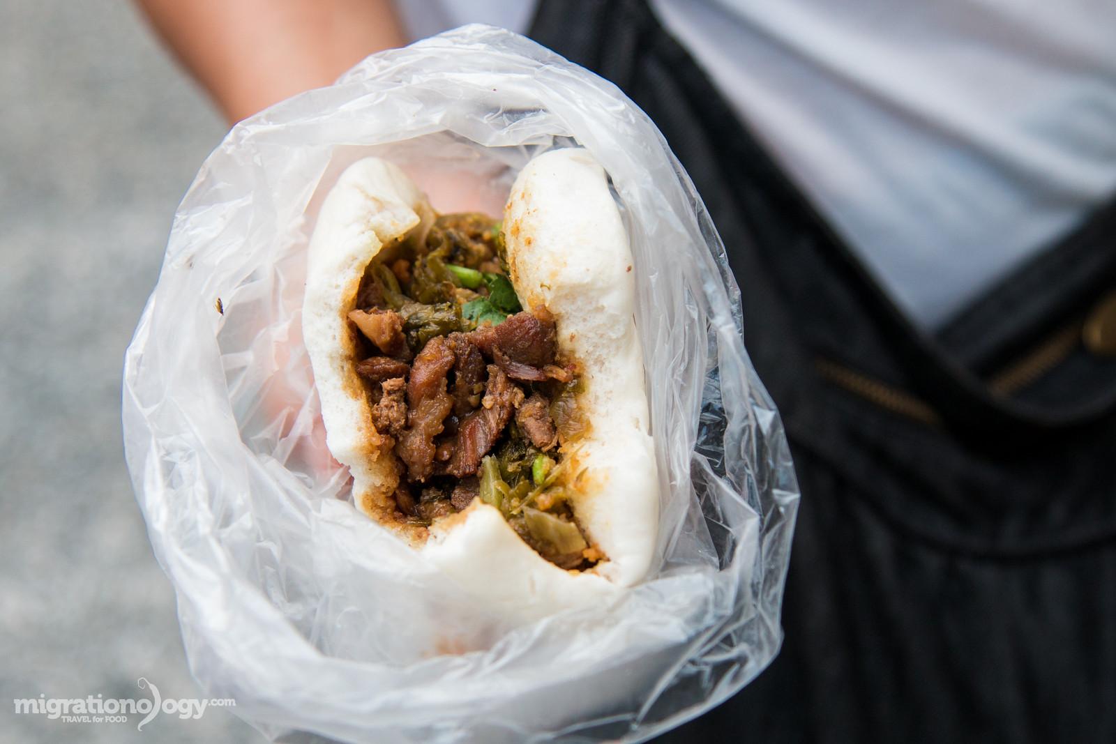 Taiwanese Food - Taiwanese sandwich (割包)