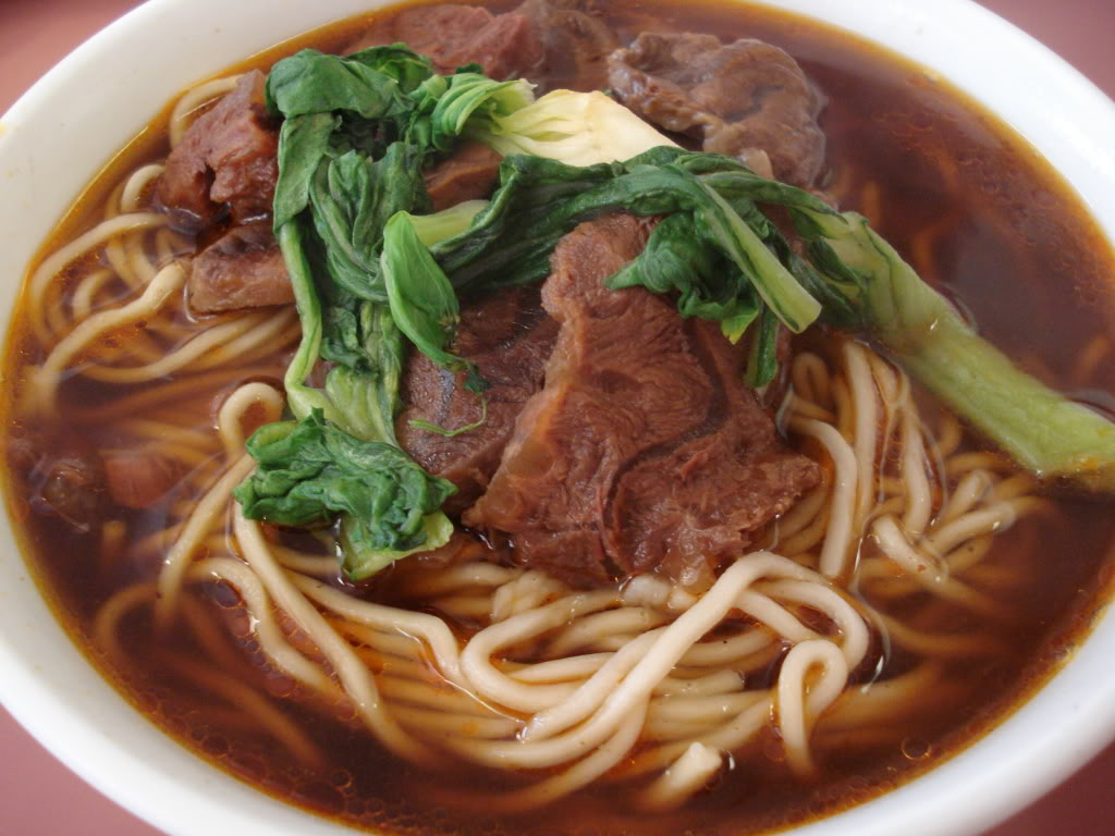 Beef Noodles - Taiwanese Food at it's finest
