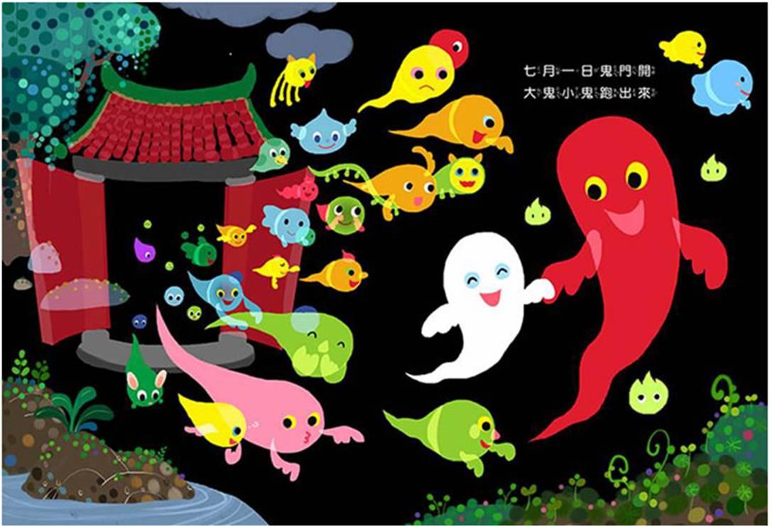 Ghost door opens on July 1st of the lunar calendar.