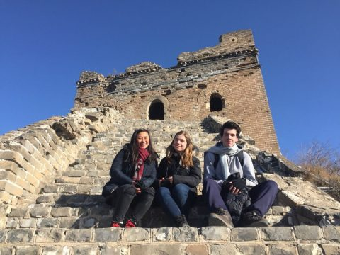 The Great Wall - Beijing students explore and discover