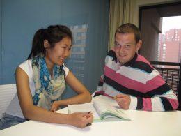 1-on-1 class at the LTL Beijing school