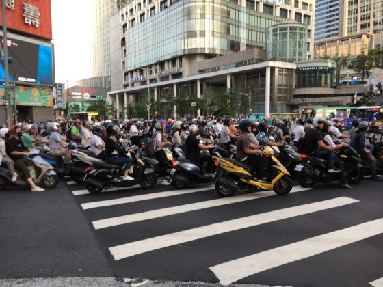 Taipei street view