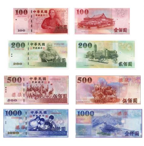 moving to taiwan- taiwan currency