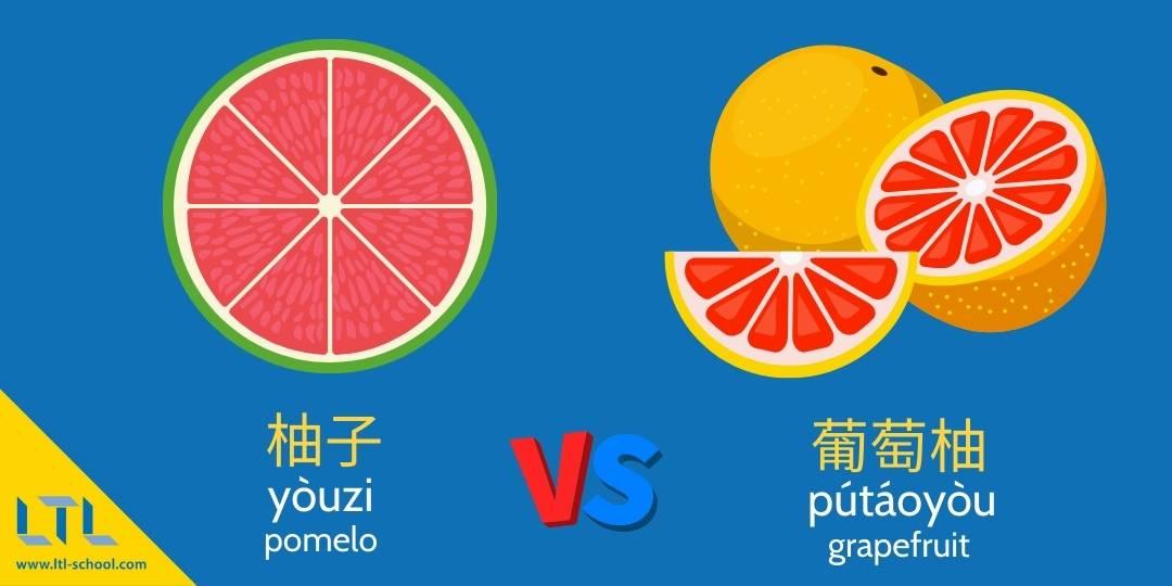 pomelo vs grapefruit east vs west